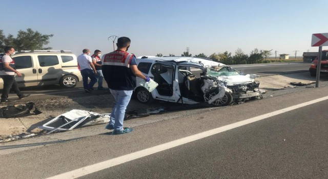 Konya Yolunda Feci Kaza: 6 Ölü 2 Yaralı