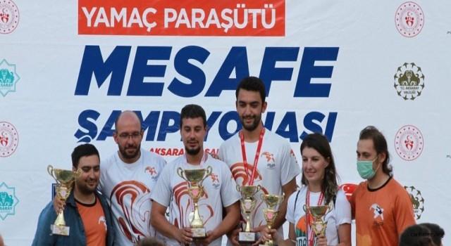 Yamaç Paraşütü Mesafe Şampiyonası Sona Erdi