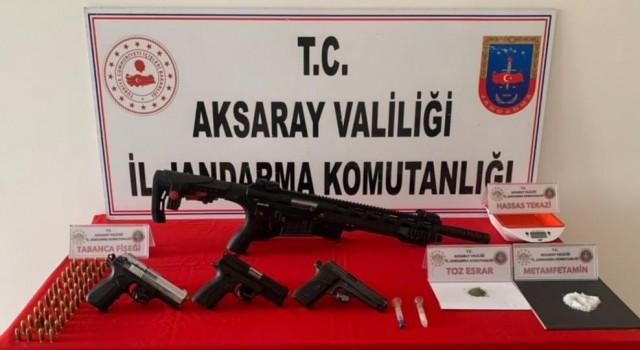 Uyuşturucu ve Silah Ticareti Yapan 3 Şüpheli Yakalandı