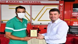 Başkan Dinçer, Orman Yangınlarında Görev Alan Personellere Teşekkür Etti