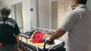 Odaya Kilitlenen Engelli Genç Kız 4. Kattan Çarşafla İnmeye Çalışırken Düştü